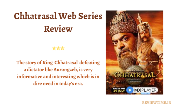 Read more about the article Chhatrasal MX Player Web Series Review